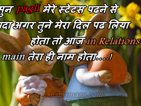 latest whatsapp status for love in hindi, facebook status, new status