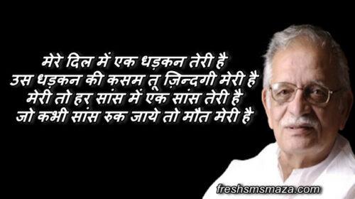 gulzar quotes on relationship, gulzar shayari in hindi, गुलजार साहब शायरी